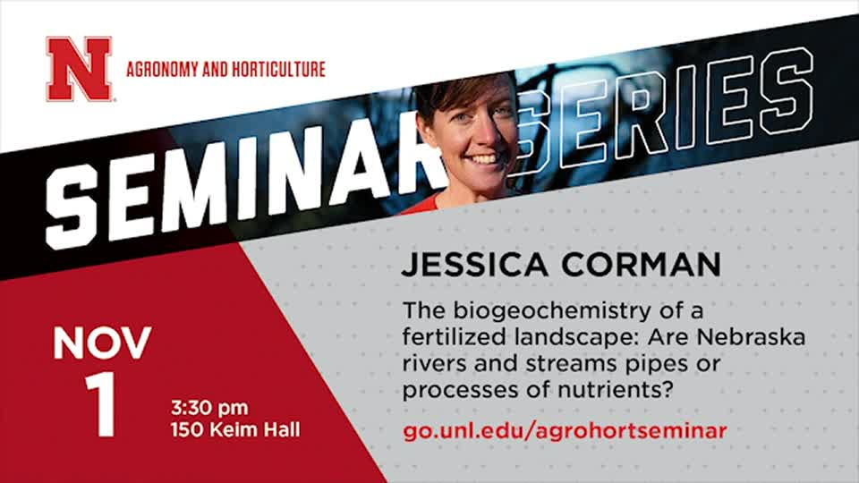 The Biogeochemistry of a Fertilized Landscape: Are Nebraska Rivers and Streams Pipes or Processes of Nutrients?