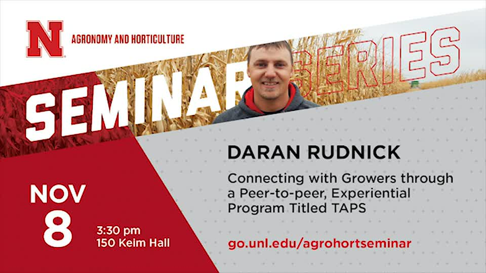 Connecting with Growers through a Peer-to-peer, Experiential Program Titled TAPS