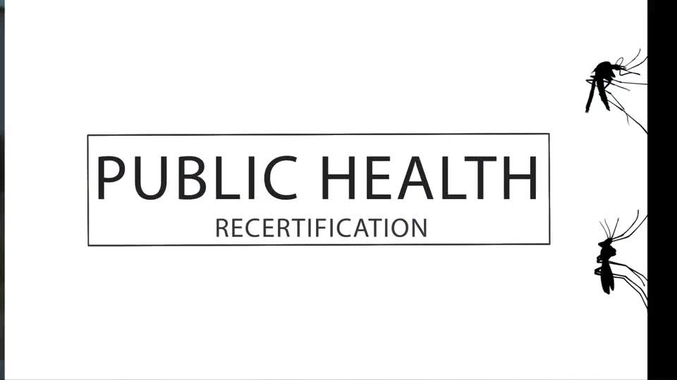 PSEP Public Health Recertification