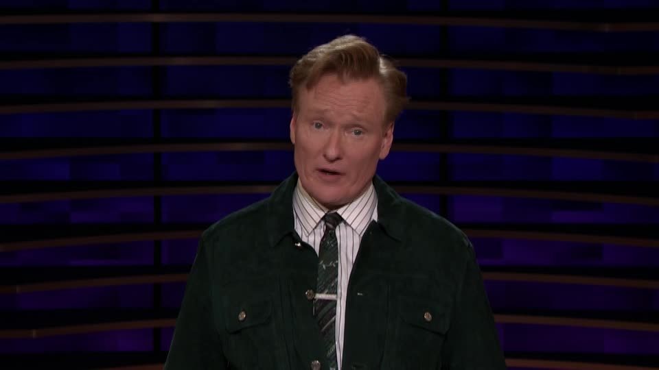 Conan O'Brien's Carson Center Greeting