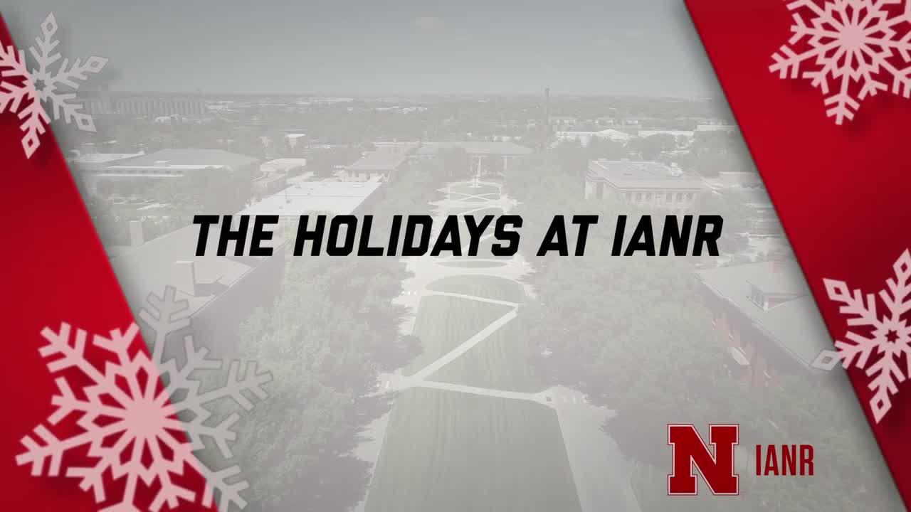 Happy Holidays From IANR