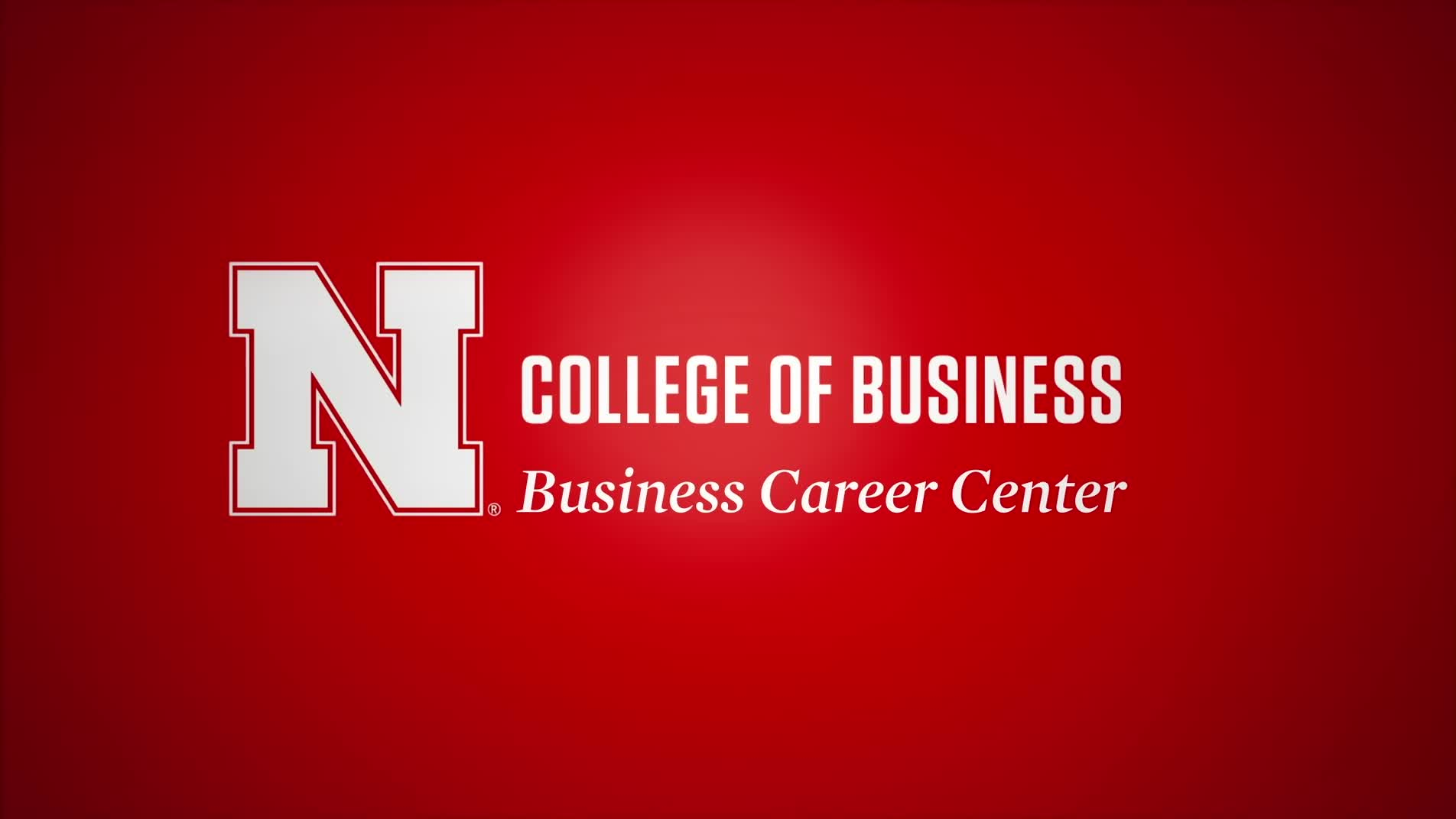 Husker Connect Advice: How to handle nervousness before an interview.