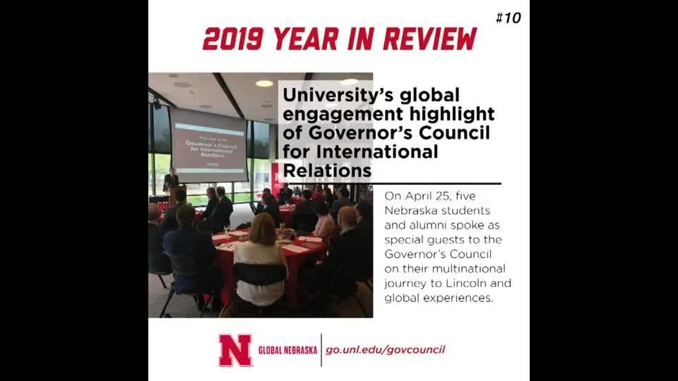 Global Nebraska 2019 Year in Review