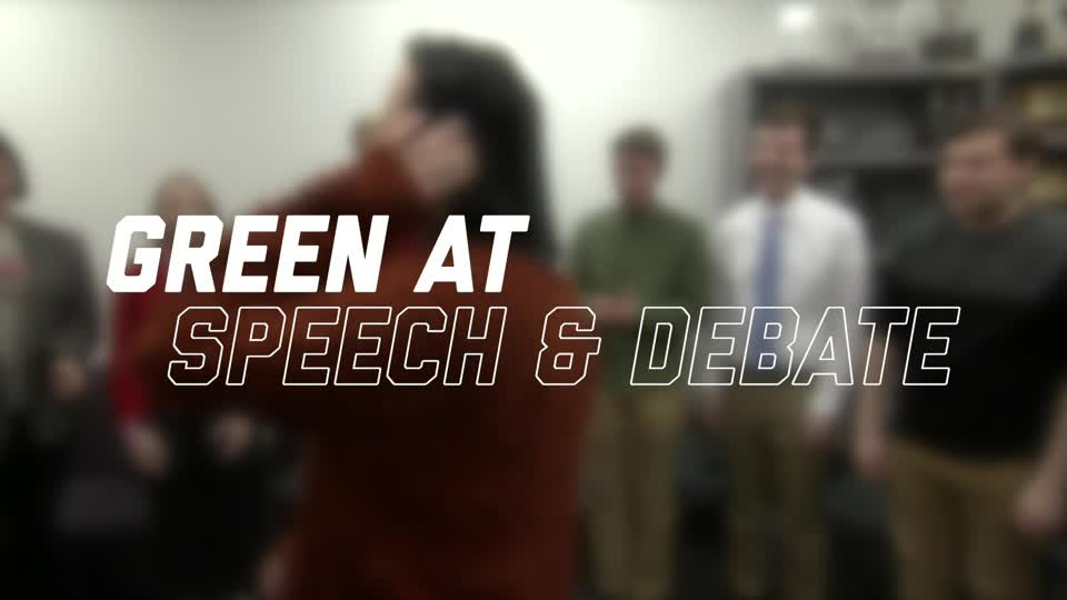 Green at Speech and Debate
