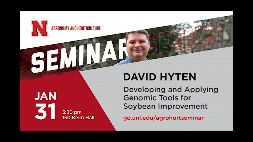 Developing and Applying Genomic Tools for Soybean Improvement