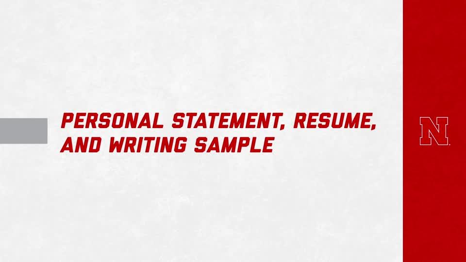 Master's in Speech-Language Pathology: Personal Statement, Resume and Writing Sample FAQ