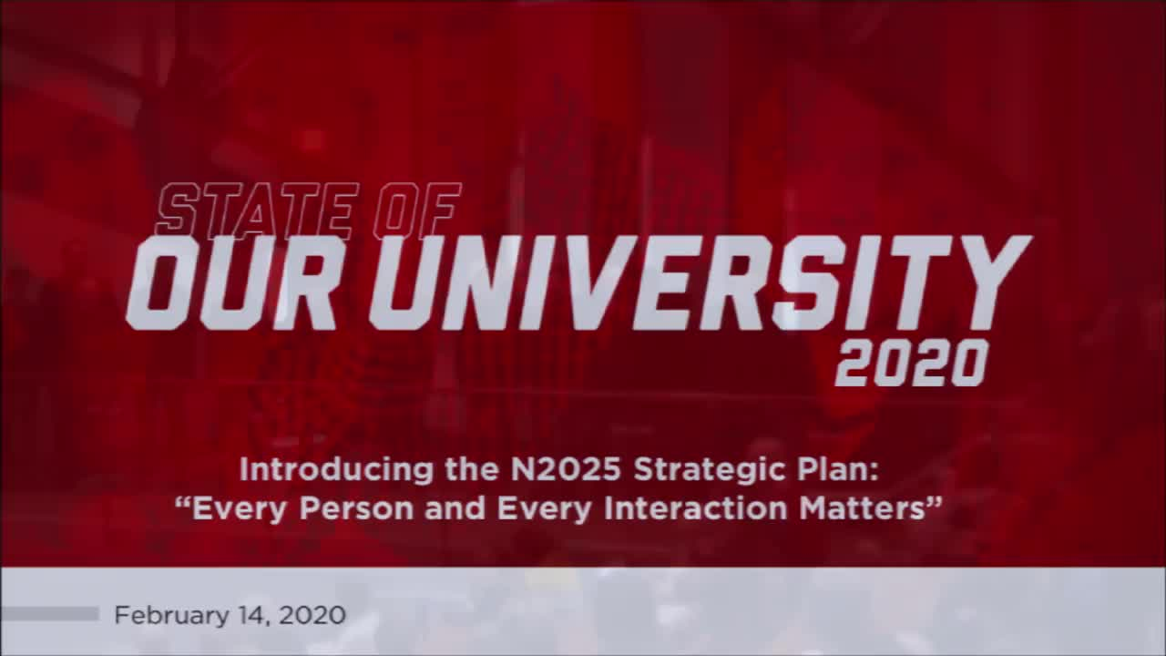 2020 State of Our University