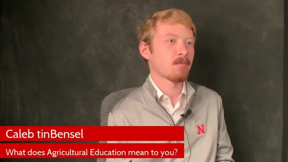Ag Ed Teaching - Caleb tinBensel