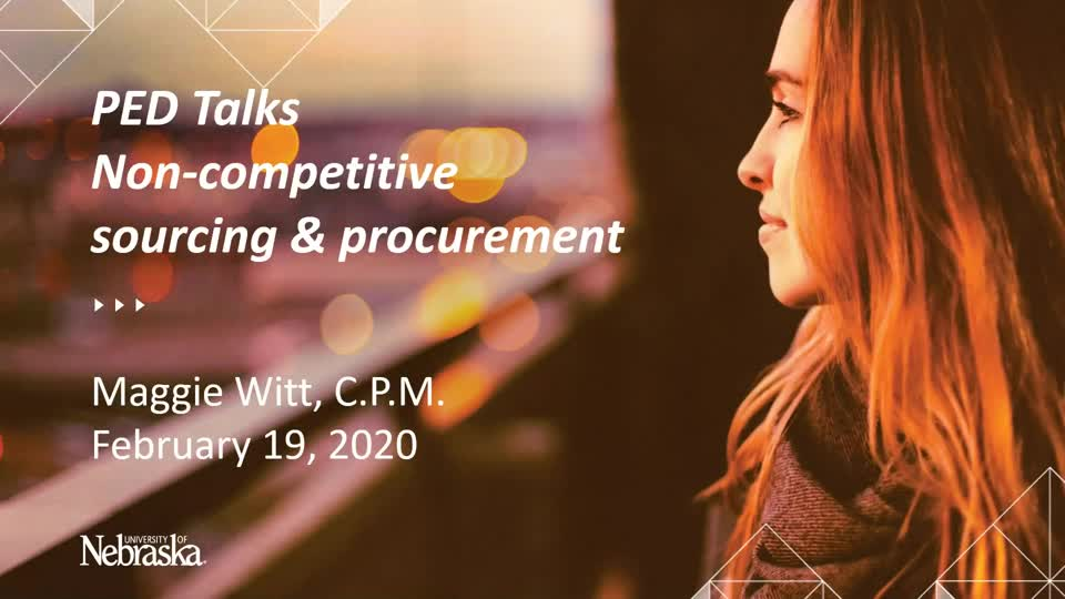 PED Talks February 2020