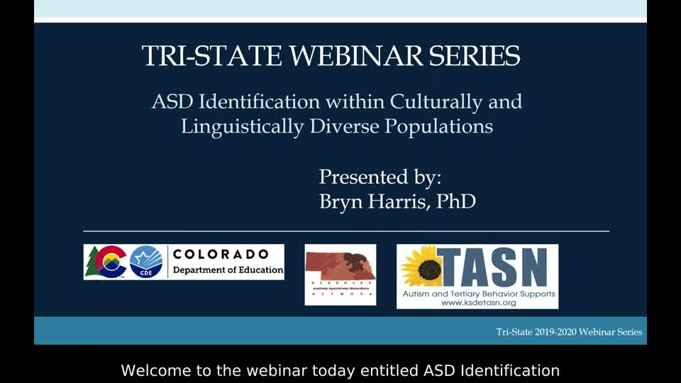 ASD Identification within Culturally and Linguistically Diverse Populations