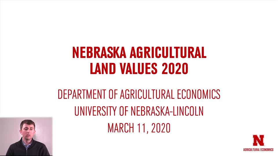 2020 Nebraska Land Values
