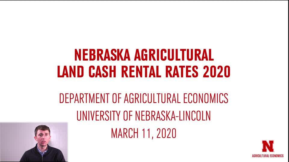 2020 Nebraska Cash Rents