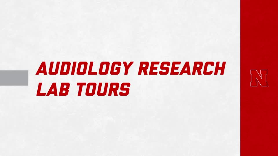 Audiology Research Lab Virtual Tours