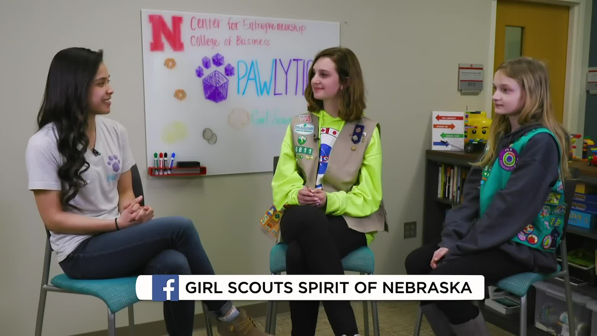 Nebraska Girl Scouts Interview Entrepreneur Lizz Whitacre