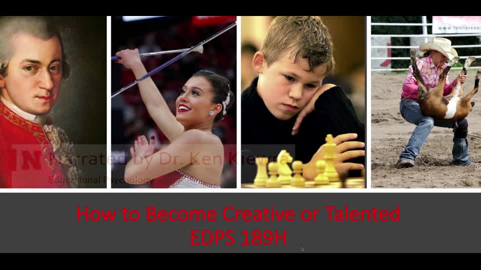 189H: How to Become Creative or Talented