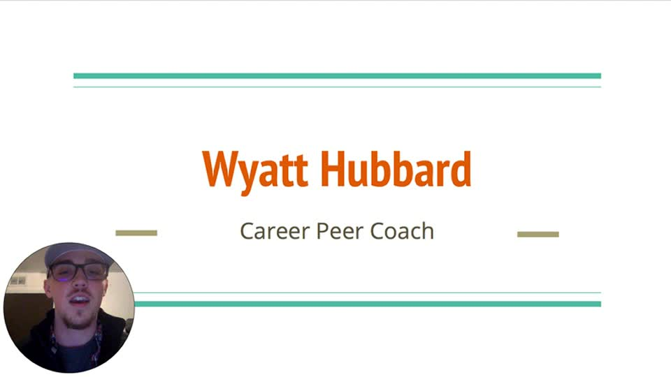 Wyatt Hubbard, CASNR Peer Career Coach