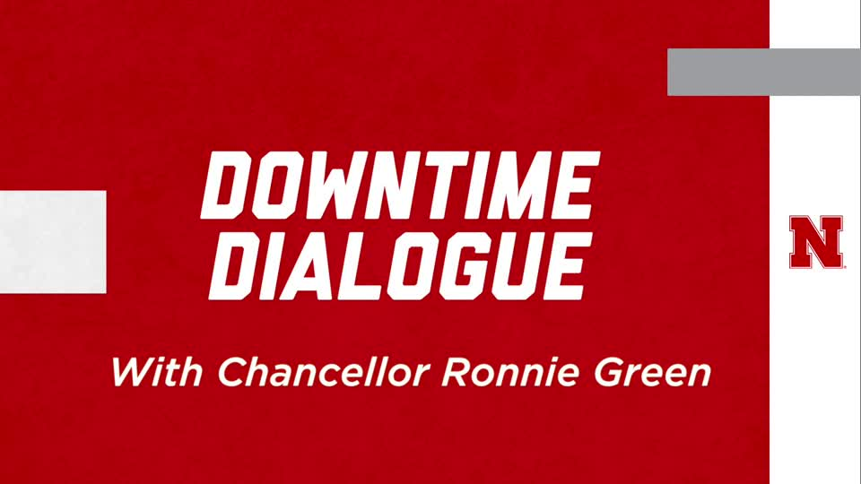 Downtime Dialogue: Ronnie Green
