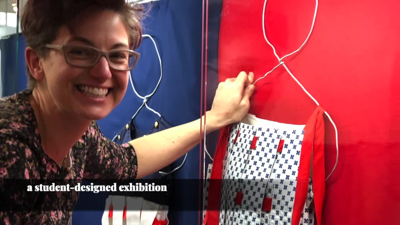 Playing Dress Up: Virtual Tour of Student Exhibition in Department of Textiles, Merchandising & Fashion Design