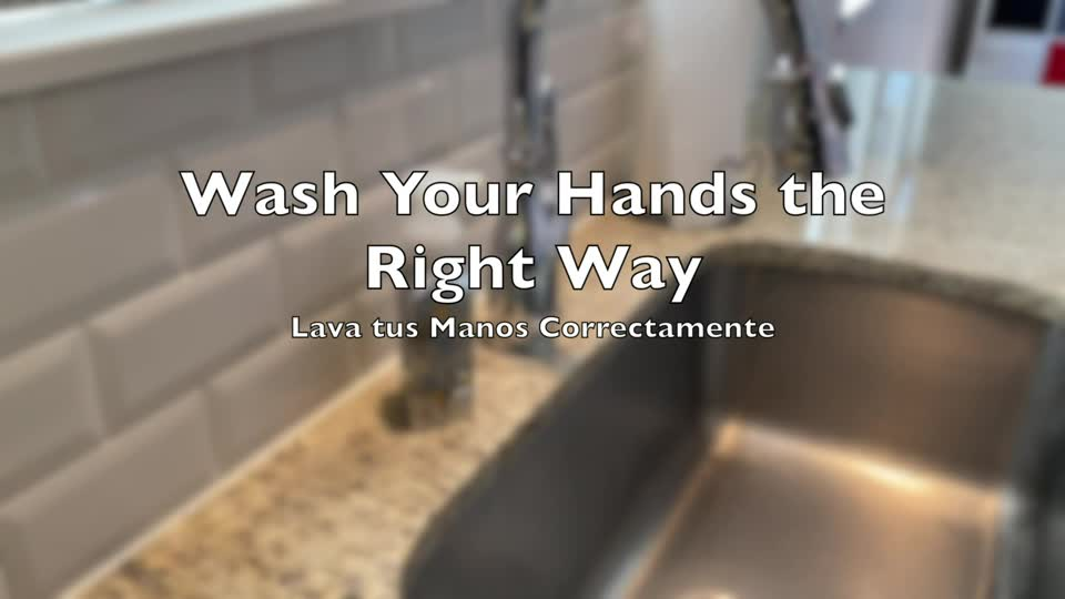 Wash Your Hands the Right Way