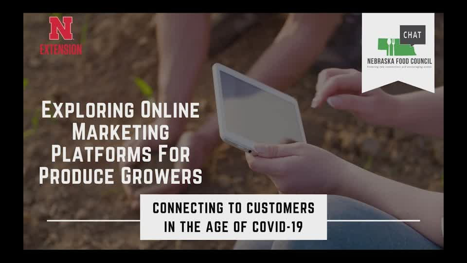 Online Marketing Platforms for Produce Growers-Square and Weebly