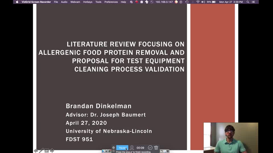 FDST 951 - Advanced Food Science Seminar