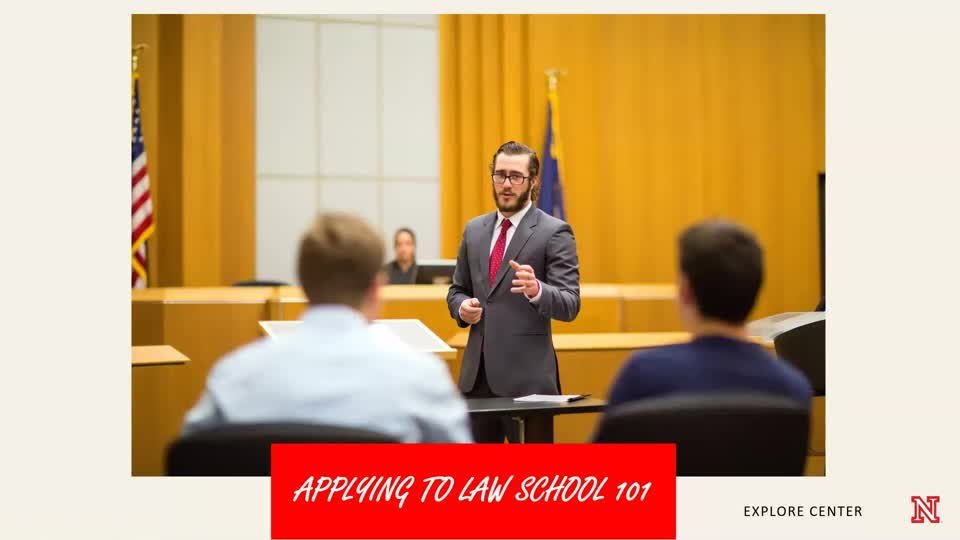 Applying to Law School 101 - 4/22/20