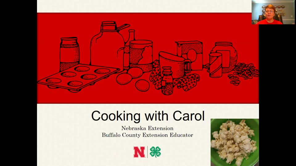 Cooking with Carol - Gooey Caramel Popcorn