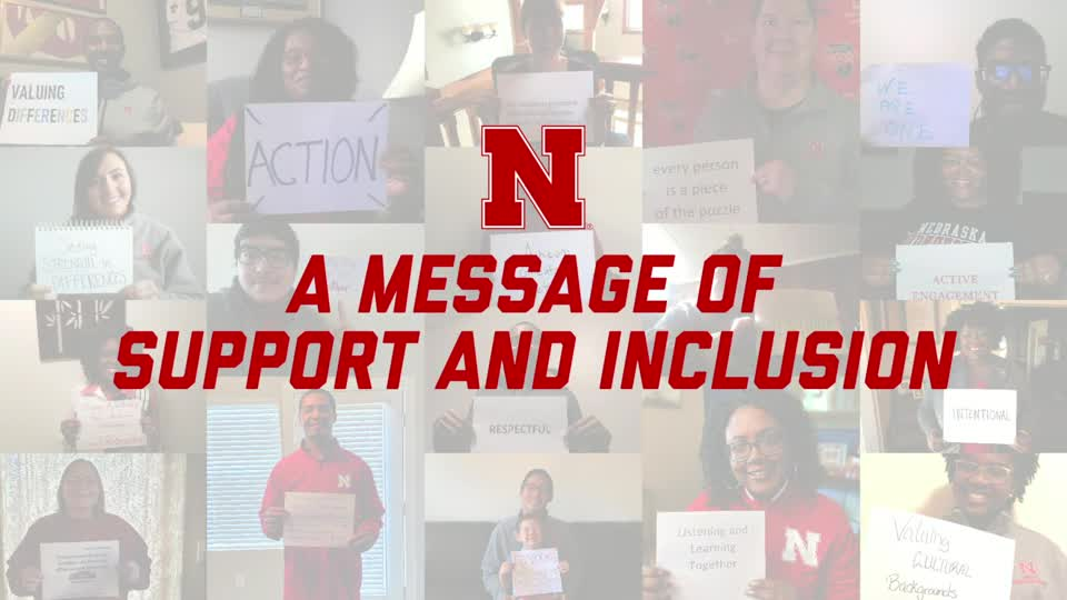A Message of Support and Inclusion