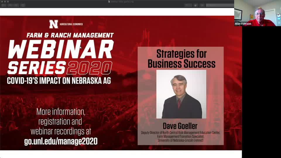 Webinar: Strategies for Business Success (May 7, 2020)