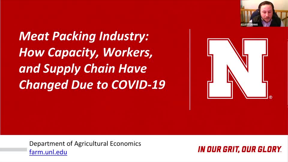 Webinar: Meat Packing Industry: How Capacity, Workers and Supply Chain Flow Have Changed due to COVID-19 with Steve Kay (May 14, 2020)