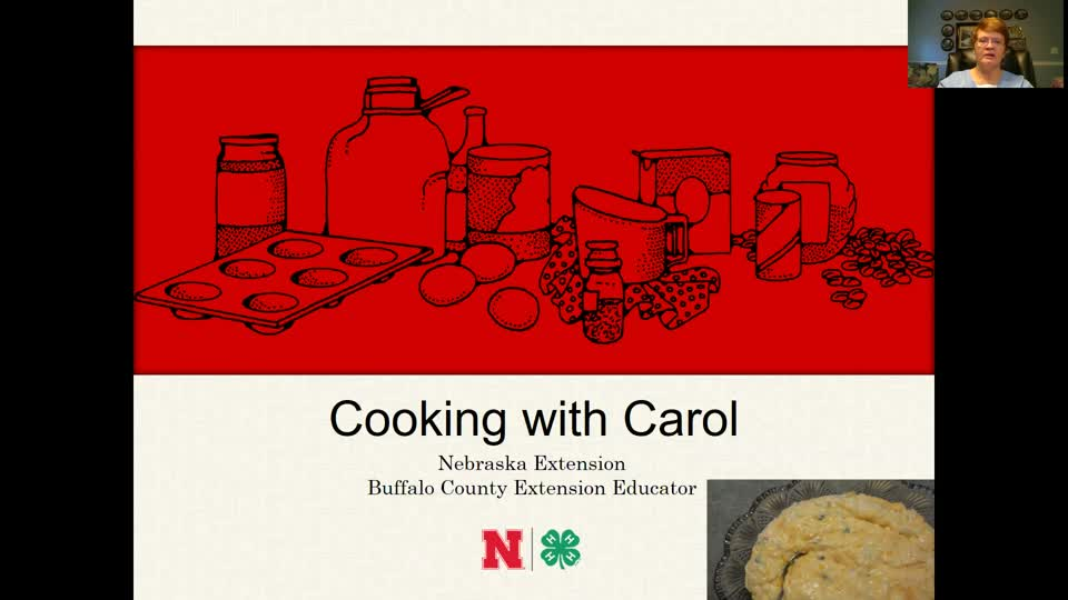Cooking with Carol - Orange Rice Delight