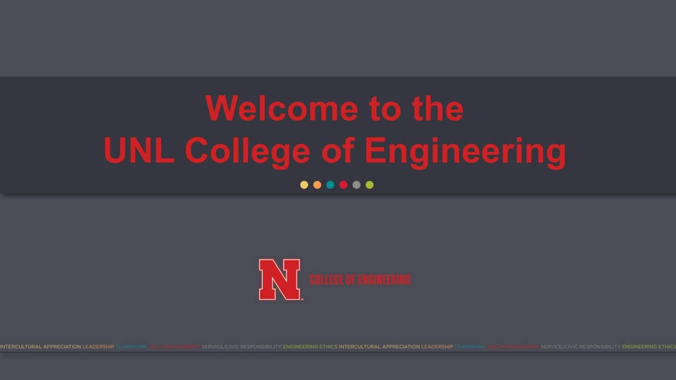 College of Engineering NSE Presentation 2020