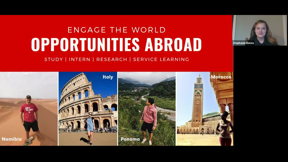 Education Abroad Presentation NSE 2020