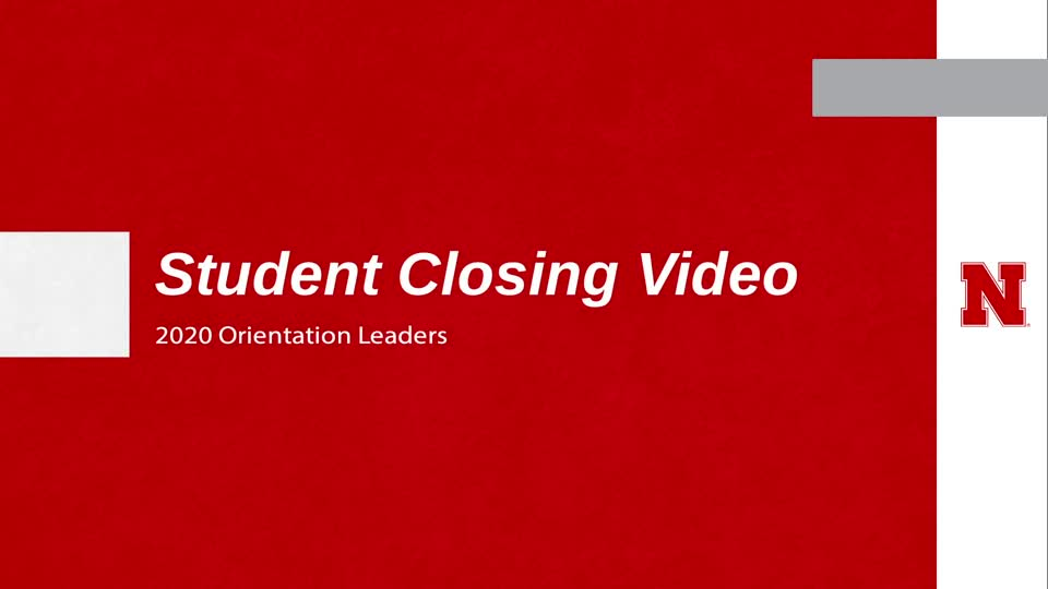 Closing Video (Students)