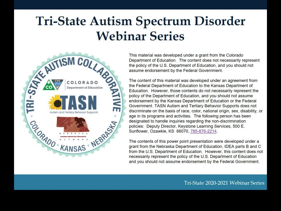 Educational Identification Case Studies: Serious Emotional Disability, ASD or Both?