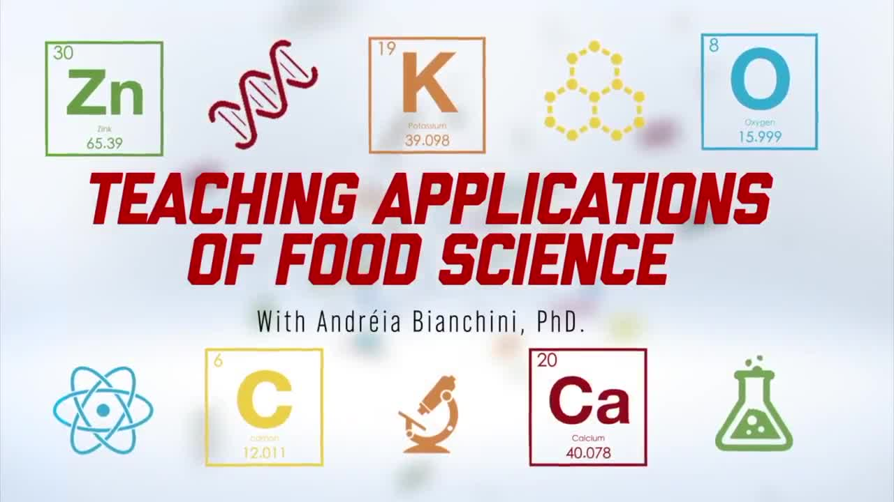 Teaching Applicaitons of Food Science - Intro