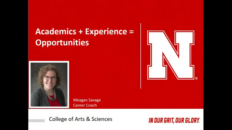 Academics + Experience = Opportunities | CAS New Student Enrollment