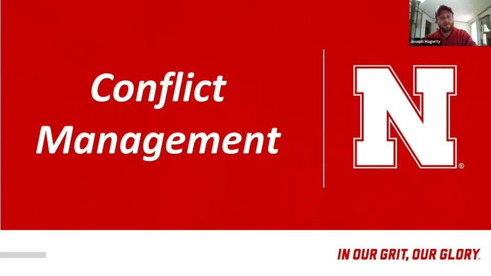 RSO  Conflict Management Workshop