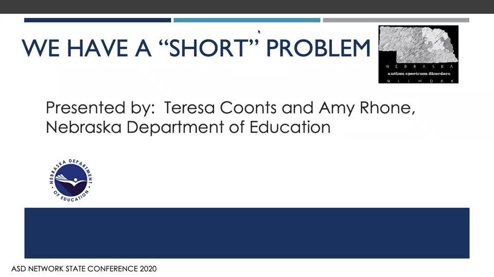 "Nebraska--We Have a ""Short"" Problem - (Guidance on the topic of shortened day schedules)"