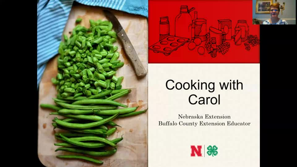 Cooking with Carol - Dutch Beans