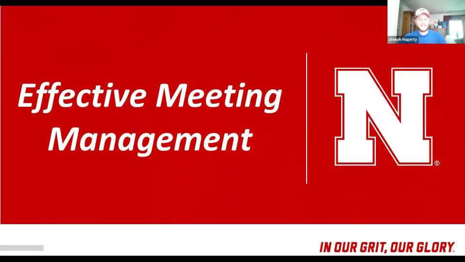Effective Meeting Management Workshop