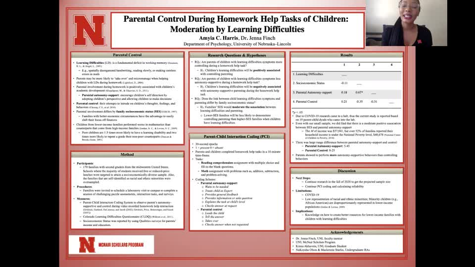 Parental Control During Homework Help Tasks of Children: Moderation by Learning Difficulties