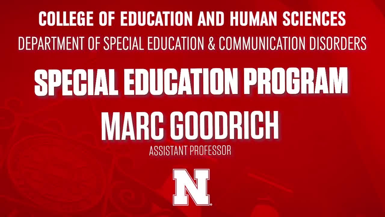 College of Education & Human Sciences 2020 NSE Welcome - Special Education Program