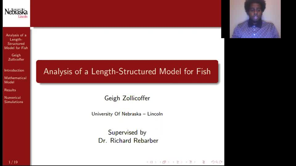 Analysis of a Length-Structured Model for Fish