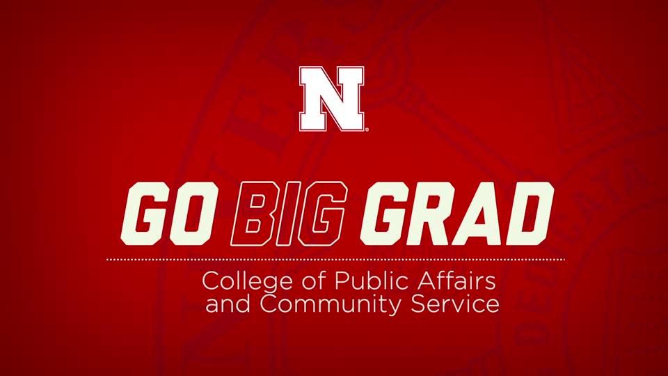 Go Big Grad | College of Public Affairs and Community Service