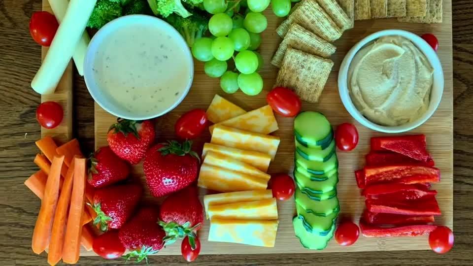 MyPlate Snack Board