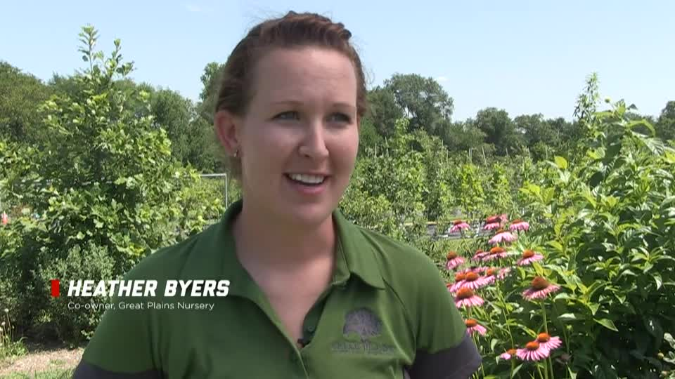 Horticulture alumna Heather Byers