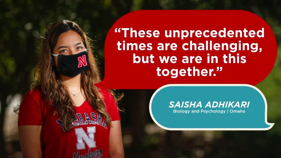 Husker Dialogues 2020: Saisha Adhikari