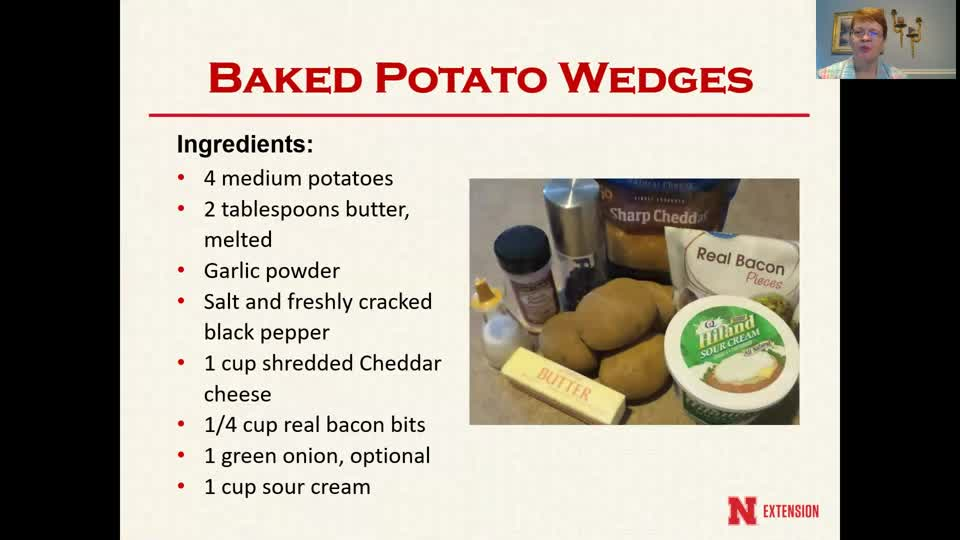 Cooking with Carol - Baked Potato Wedges