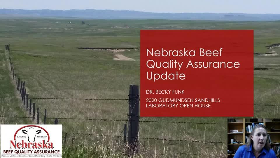 Nebraska Beef Quality Assurance Update